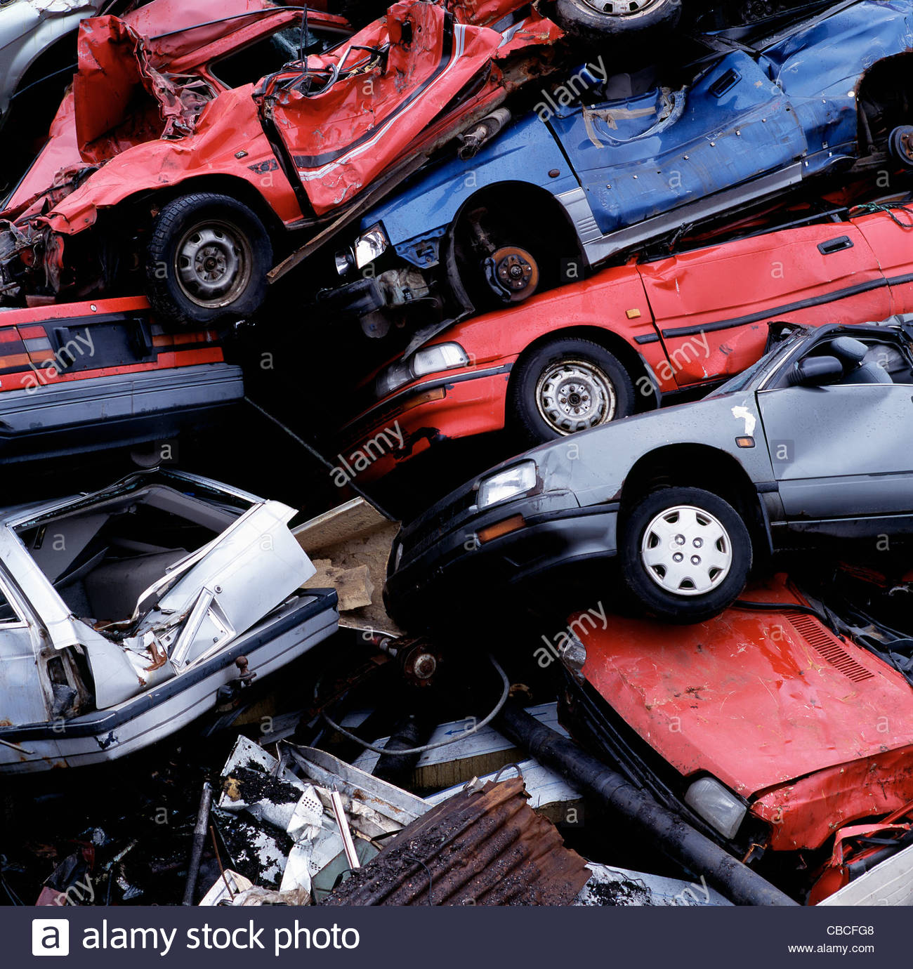 Wrecked Car Stock Photos & Wrecked Car Stock Images - Alamy
