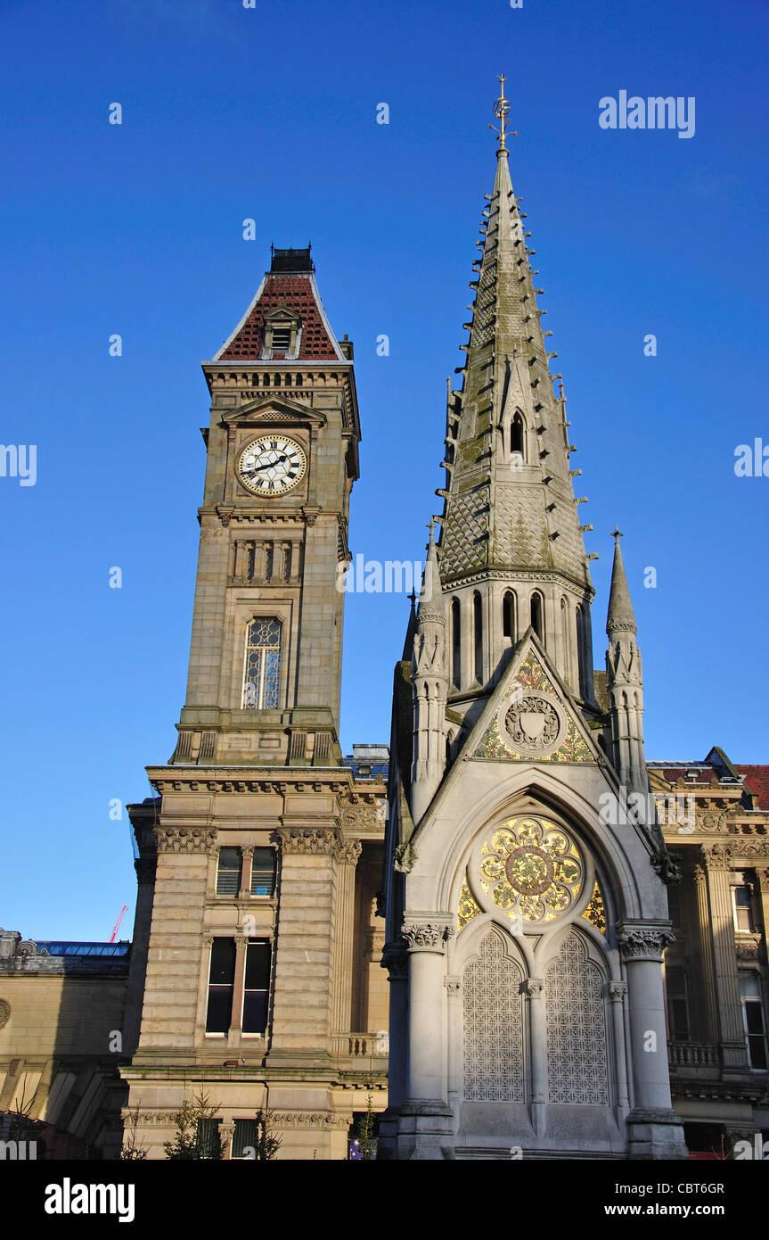 Museum and Art Gallery, Chamberlain Square, Birmingham, West Midlands, England, United Kingdom - Stock Image