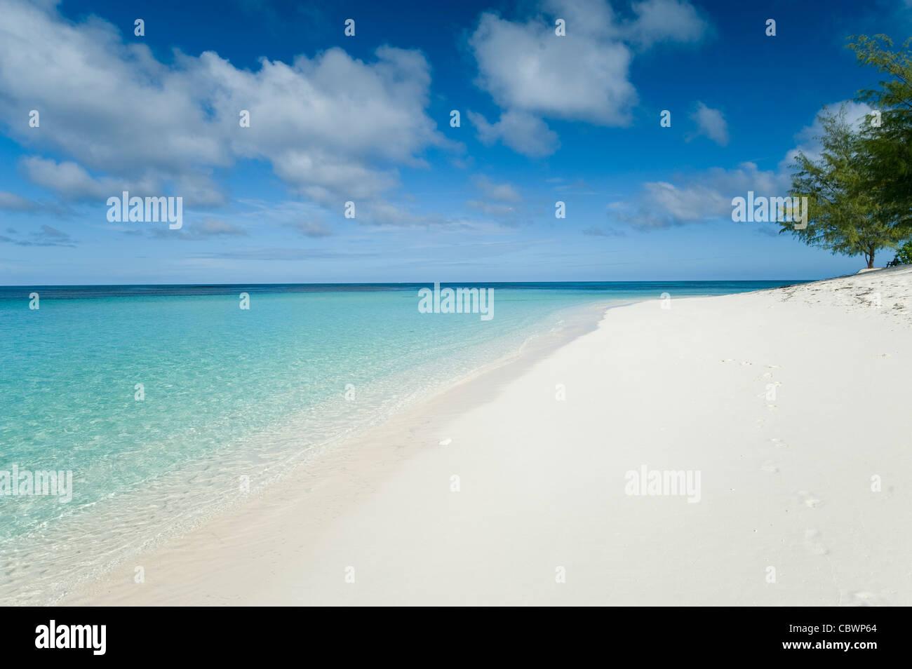 Denis private island, Seychelles - Stock Image