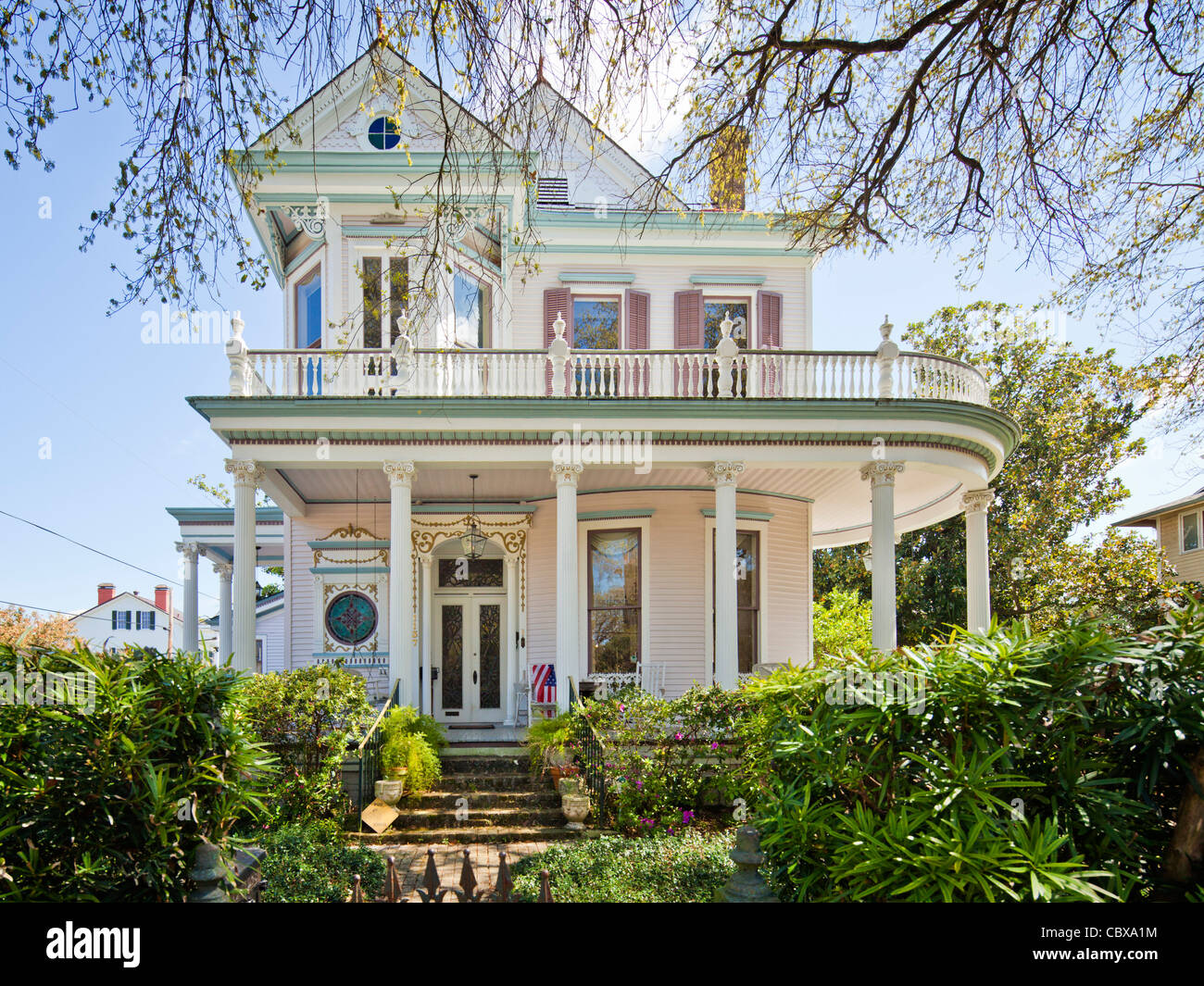Lovely Victorian House, Garden District, New Orleans Images