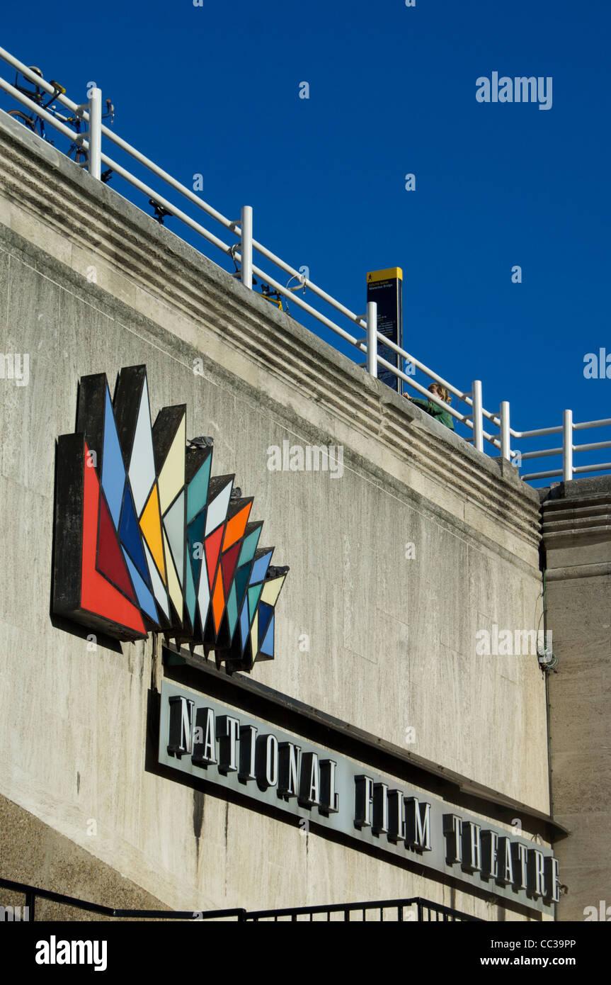 Waterloo Bridge by the BFI - Stock Image