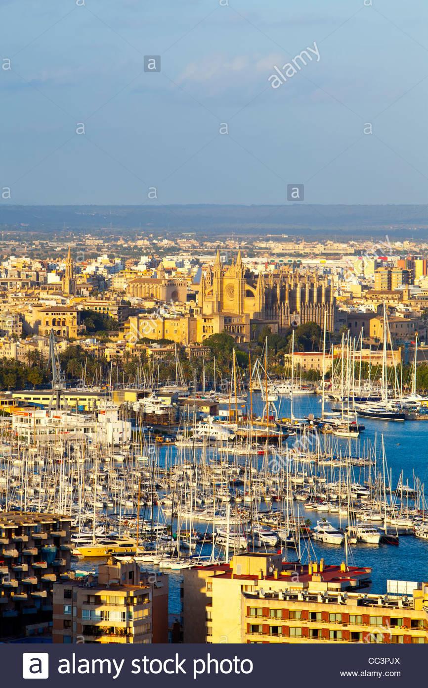 Palma de Mallorca, Mallorca, Balearic Islands, Spain - Stock Image