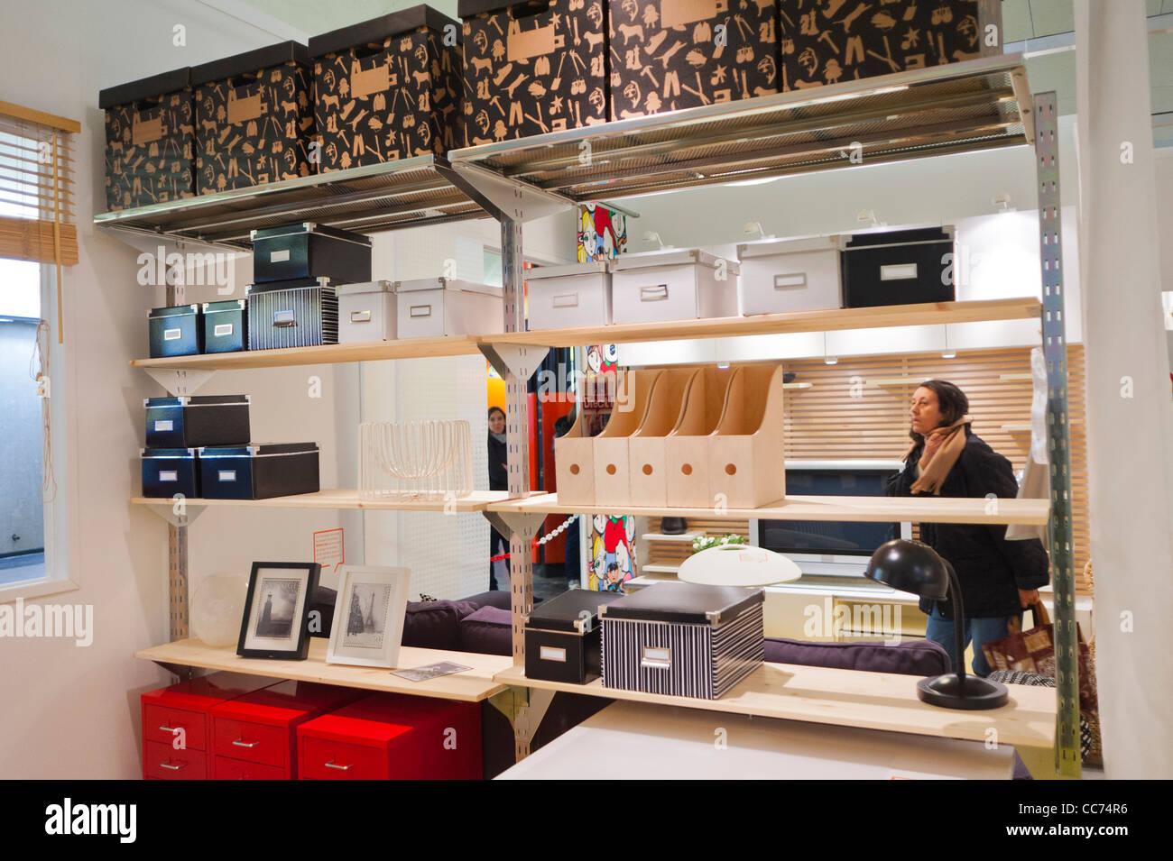 paris france advertising furniture shopping ikea furniture store