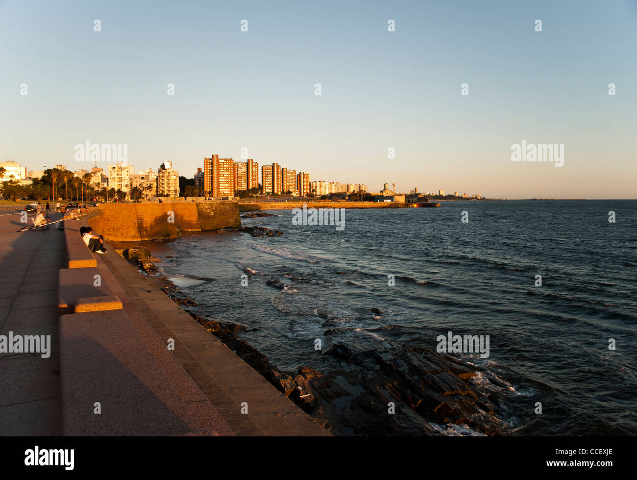 City of Montevideo, Uruguay - Stock Image