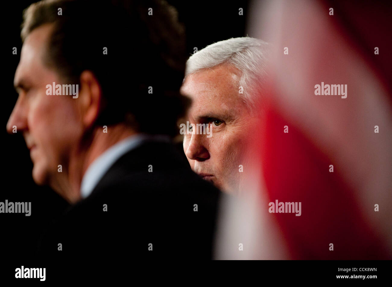 Dec 2, 2010 - Washington, District of Columbia, Senator. JIM DEMINT, (R-SC) and House Republican Conference Chairman - Stock Image
