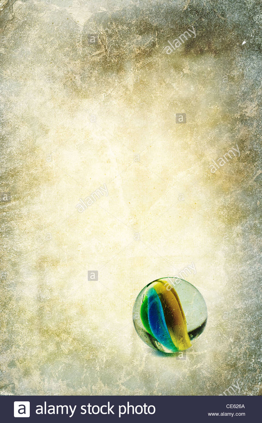 glass marble - Stock Image