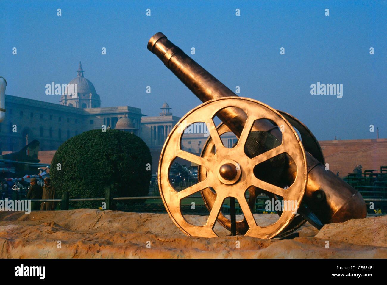 Cannon gun ; Delhi ; India - Stock Image