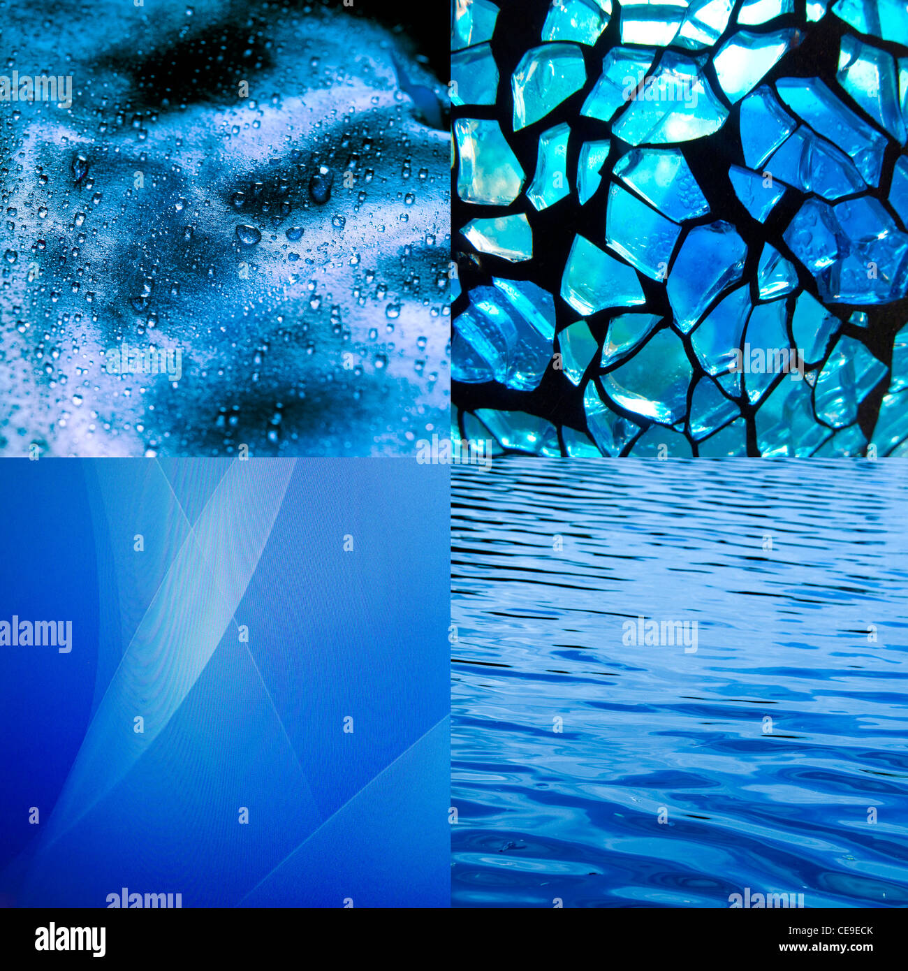 blue abstract texture backgrounds - Stock Image