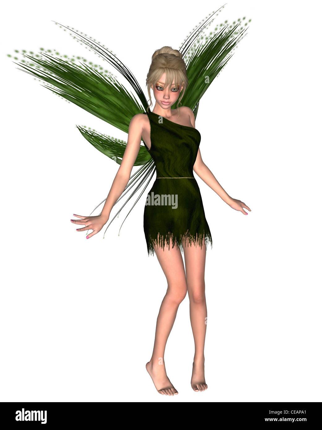 Fairy Tinkerbell - 3 - Stock Image