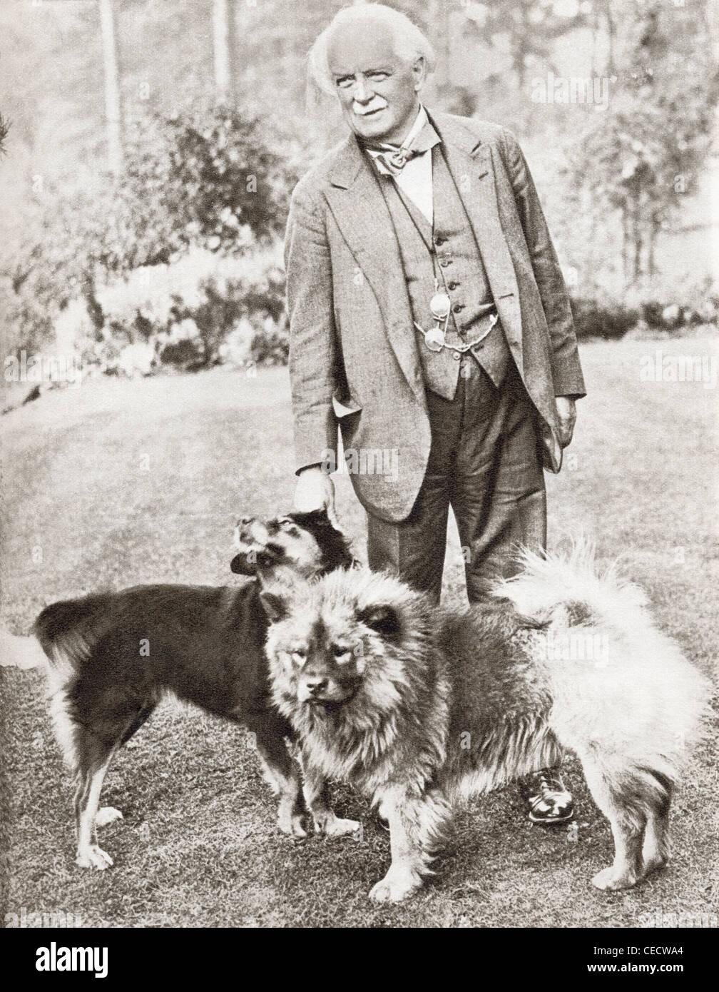 David Lloyd George, 1st Earl Lloyd-George of Dwyfor, 1863 – 1945. British Prime Minister. - Stock Image