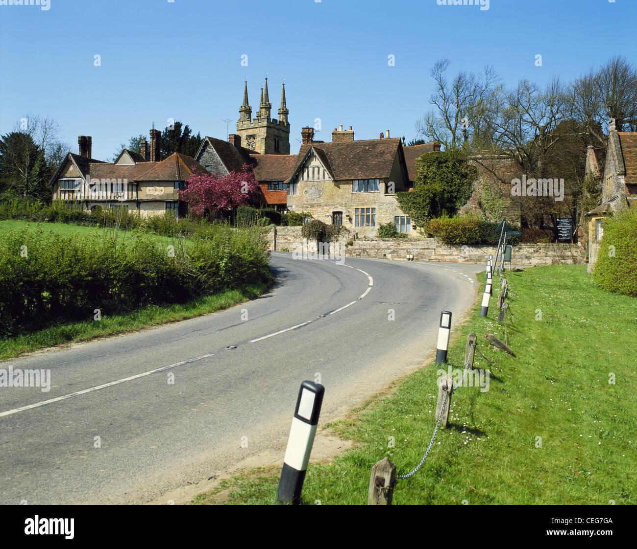 Penshurst Village Kent England UK GB Stock Photo