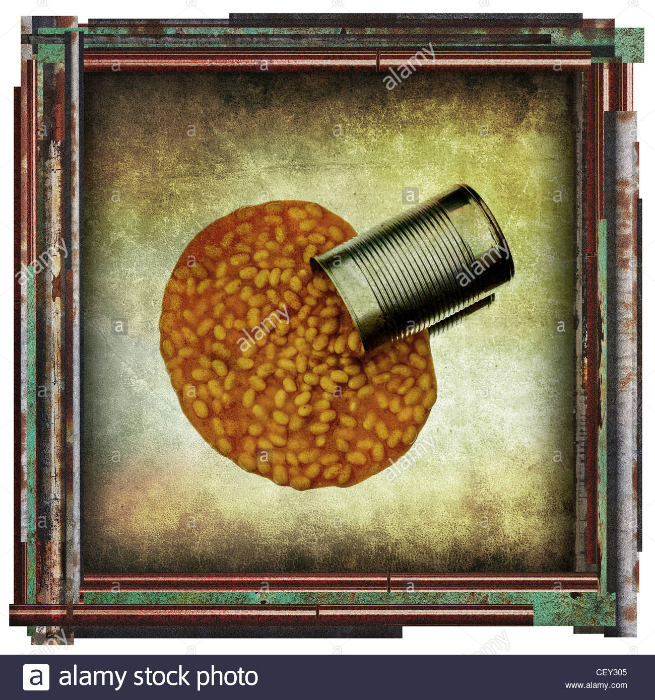 beans picture - Stock Image