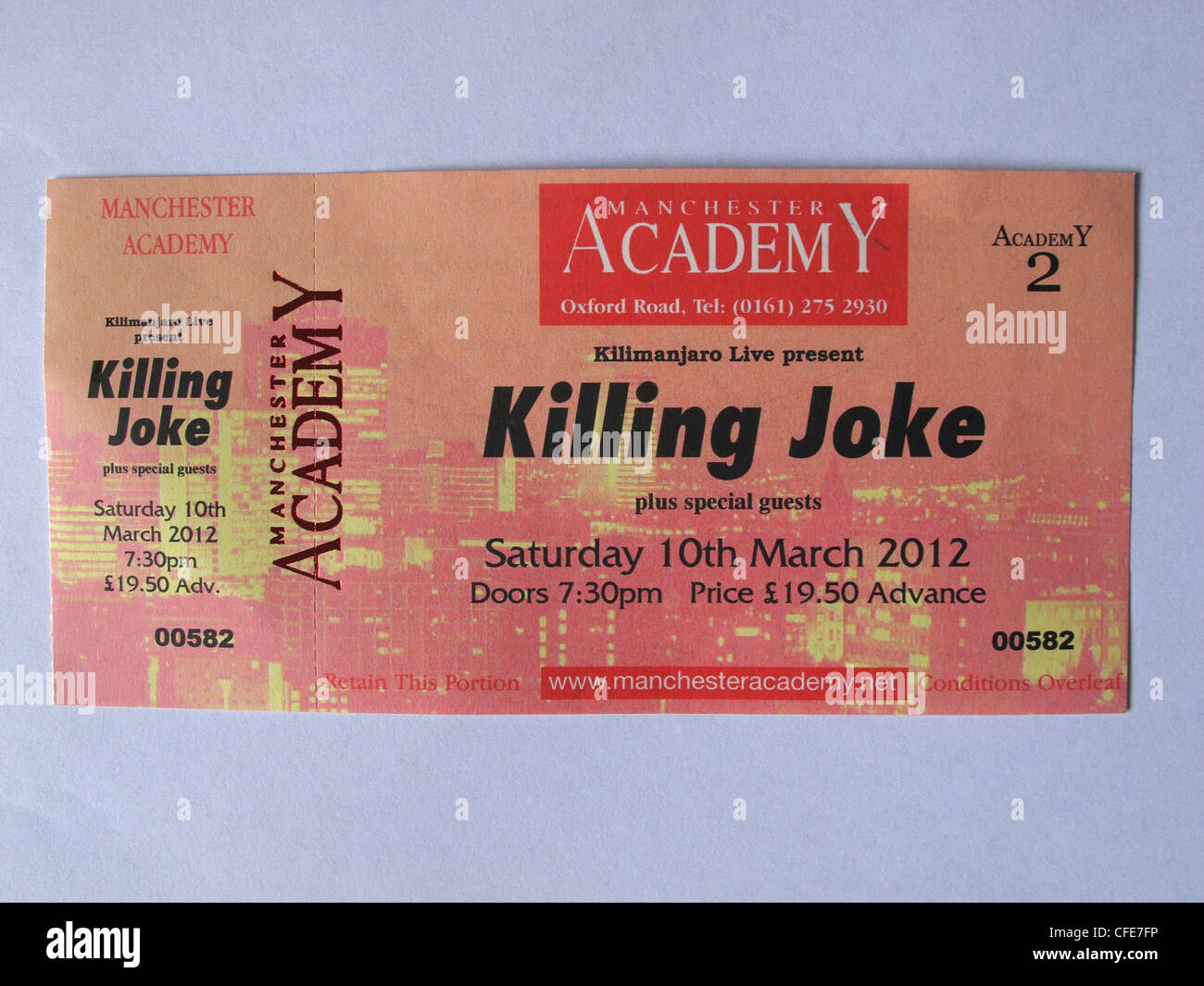 Killing,Joke,concert,ticket,for,Manchester,Academy,10th,March,2012,held,in,an,hand,gotonysmith,historic,gig,live,reunion,re-union,re,union,standing,seated,venue,gig,cartel,O2,stalls,Greater,Uni,Academy,Roadhouse,Night,and,Day,&,Ruby,lounge,high,price,prices,commission,Ticketline,Classic,1980's,1980s,online ticketting Ticketmaster England UK,gotonysmith,Buy Pictures of,Buy Images Of
