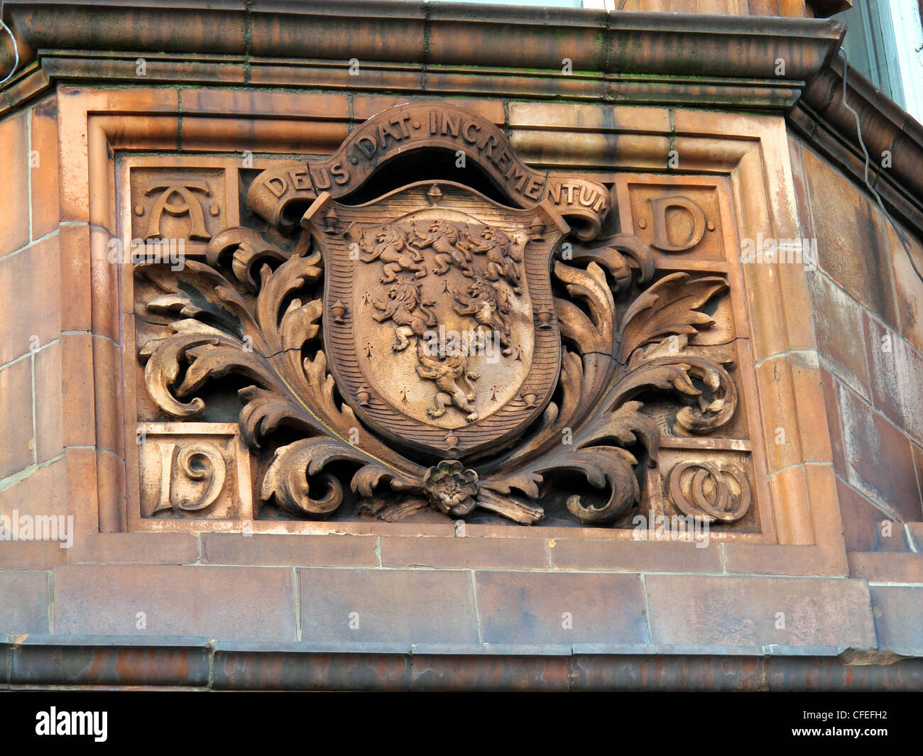 Crest,on,Warrington,Police,Headquarters,Building,in,stonework,gotonysmith,Cheshire,Constabulary,Parker,St,street,historic,history,1900,local,England,UK,GB,Great,Britain,Warringtonians,Crests,sandstone,gotonysmith,Buy Pictures of,Buy Images Of