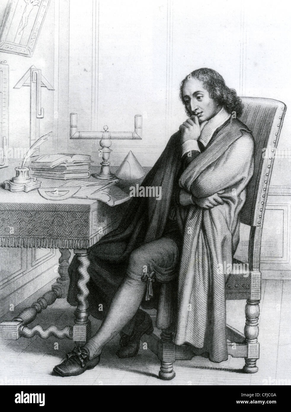 BLAISE PASCAL (1623-1662) French mathematician and philosopher