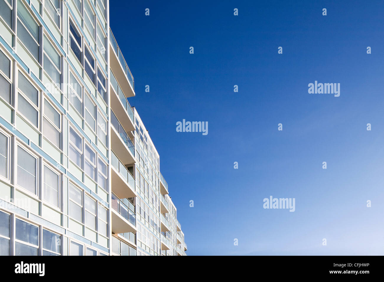 High rise apartments - Stock Image