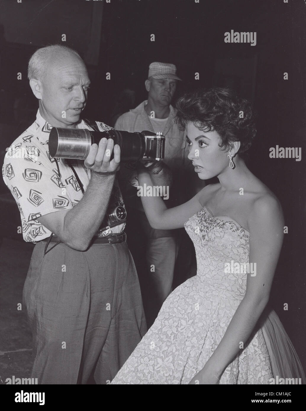 RITA MORENO while awaiting on the set of The Lieutenant Wore Skirts.(Credit Image: © Smp/Globe Photos/ZUMAPRESS.com) Stock Photo