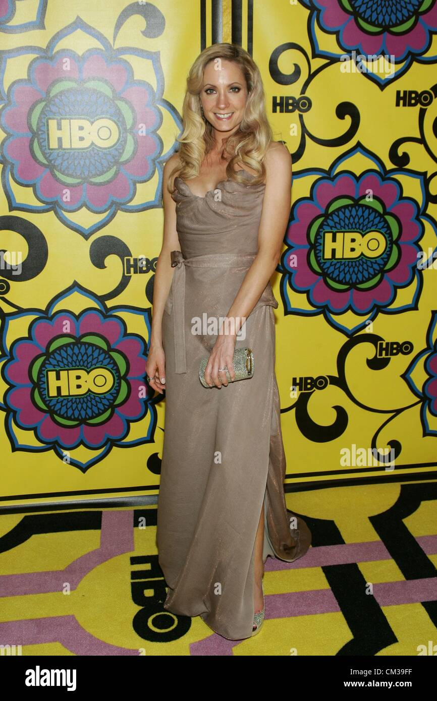 Joanne Froggatt arrivals HBO Emmy Awards After PartyPlaza atPacific Design Center Los Angeles CA September 23 2012 - Stock Image