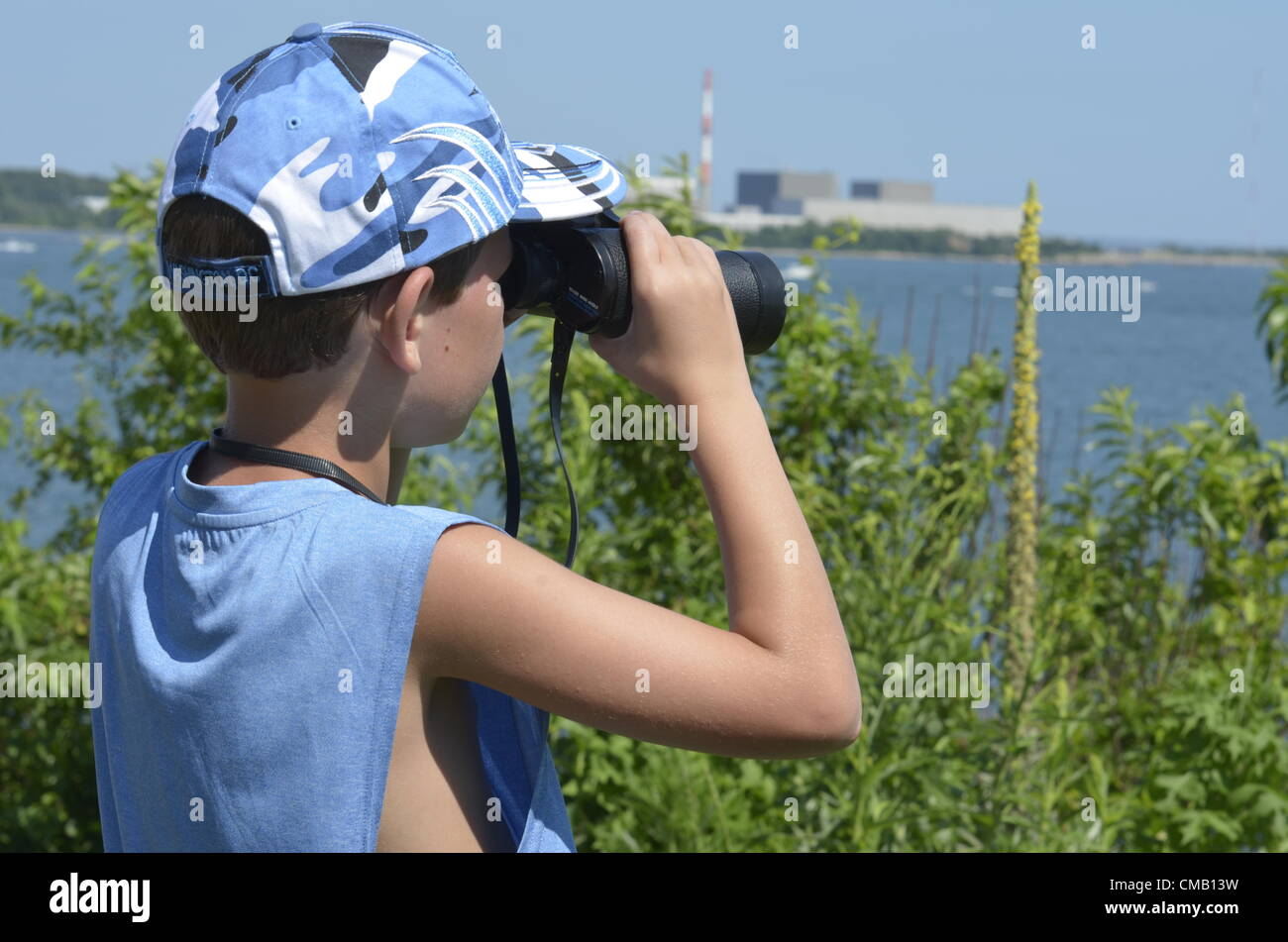 young-explorer-niantic-connecticut-usa-july-6-2012-from-a-high-vantage-CMB13W.jpg