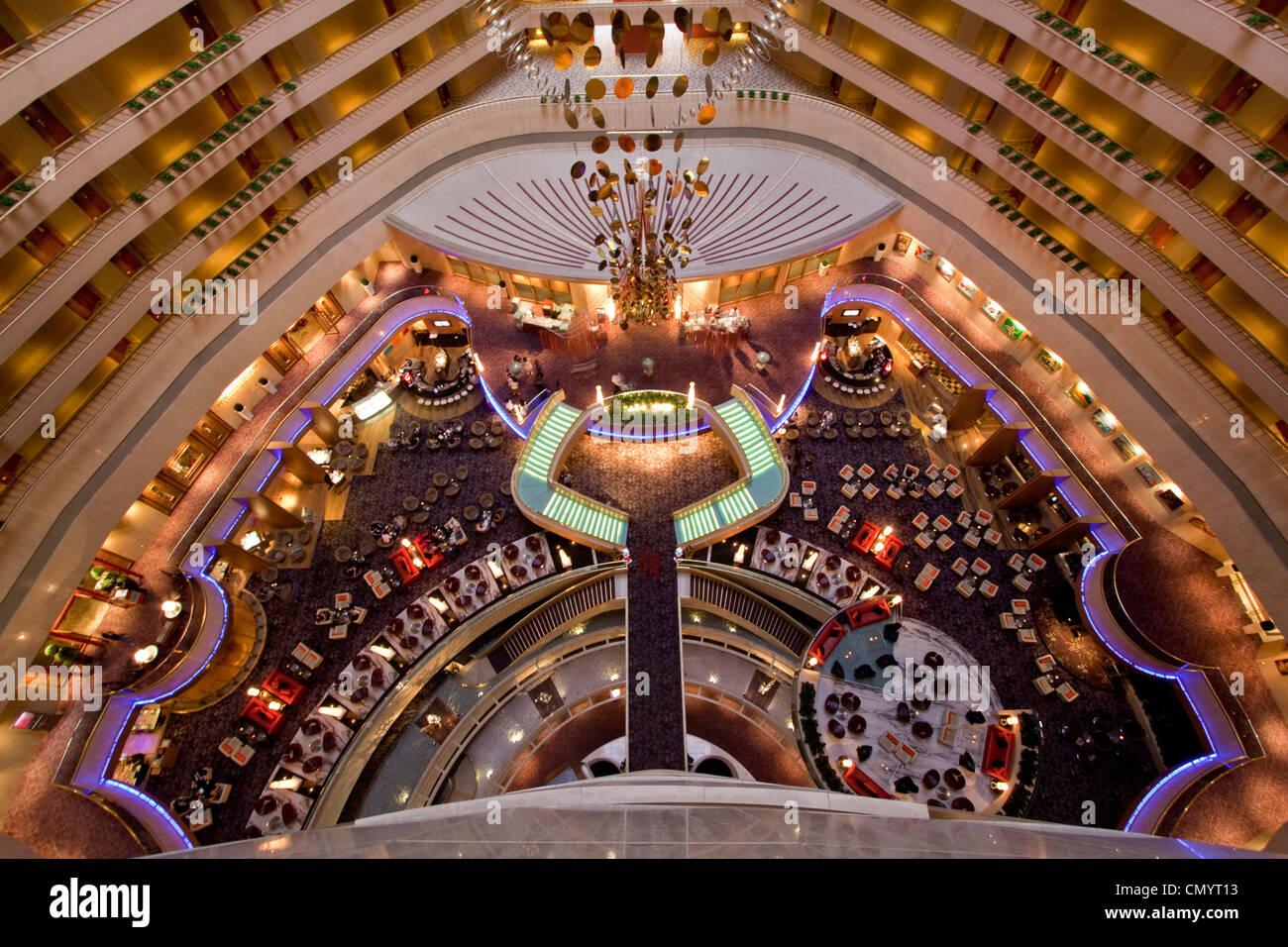 Mandarin Marina Lobby, Singapur Aisia - Stock Image