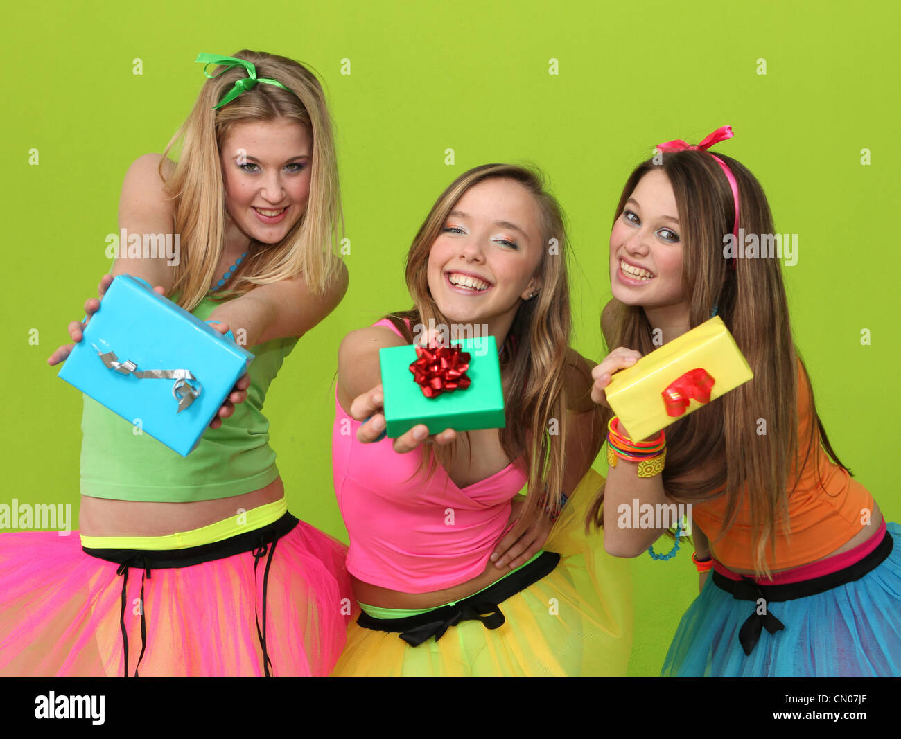 birthday party teens with gifts stock photo 47334519 alamy