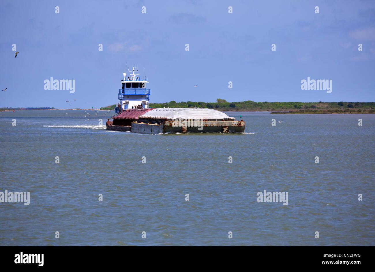 Barge Florida Beach