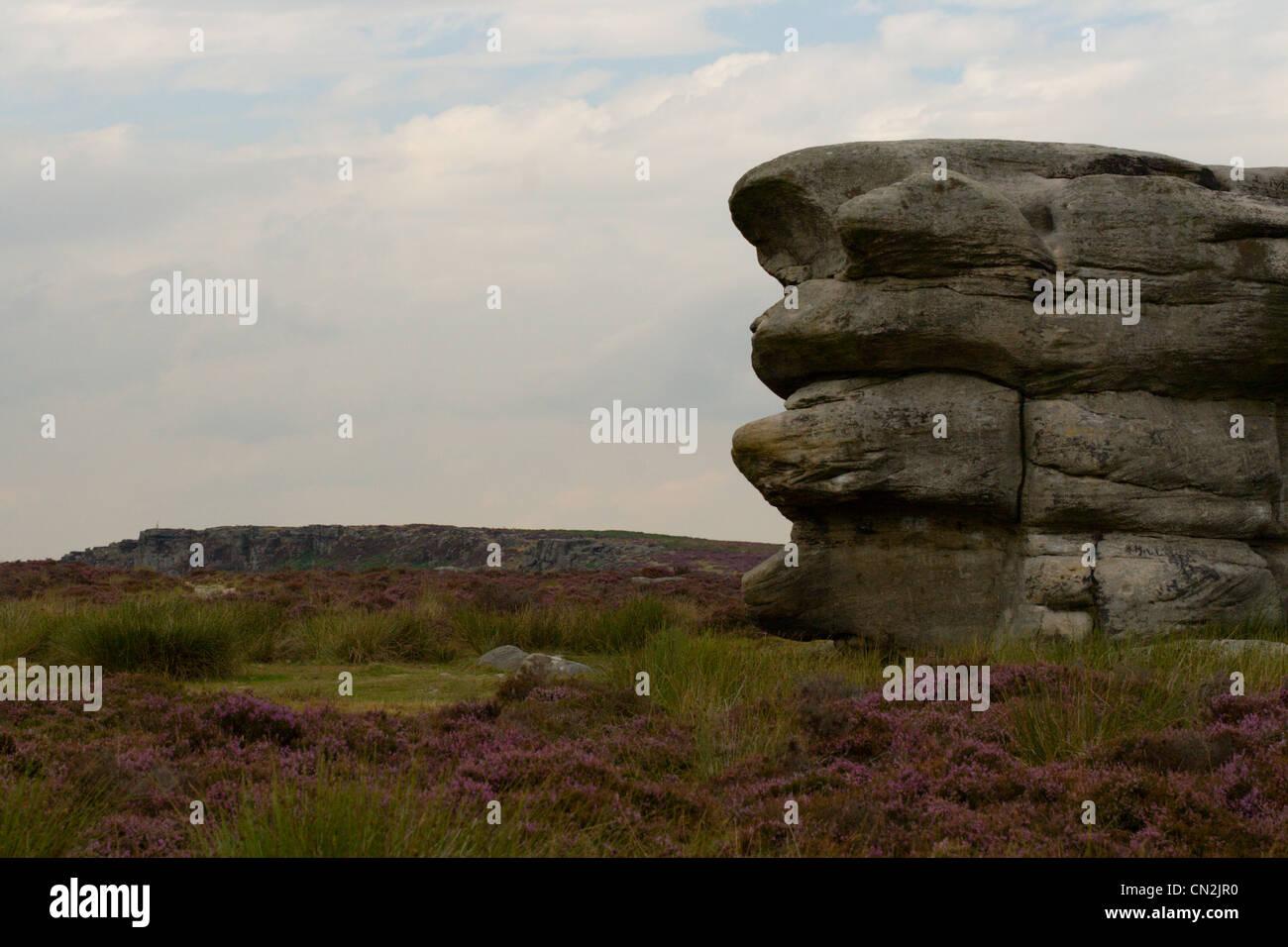 Peak District, Froggatt Edge - Stock Image