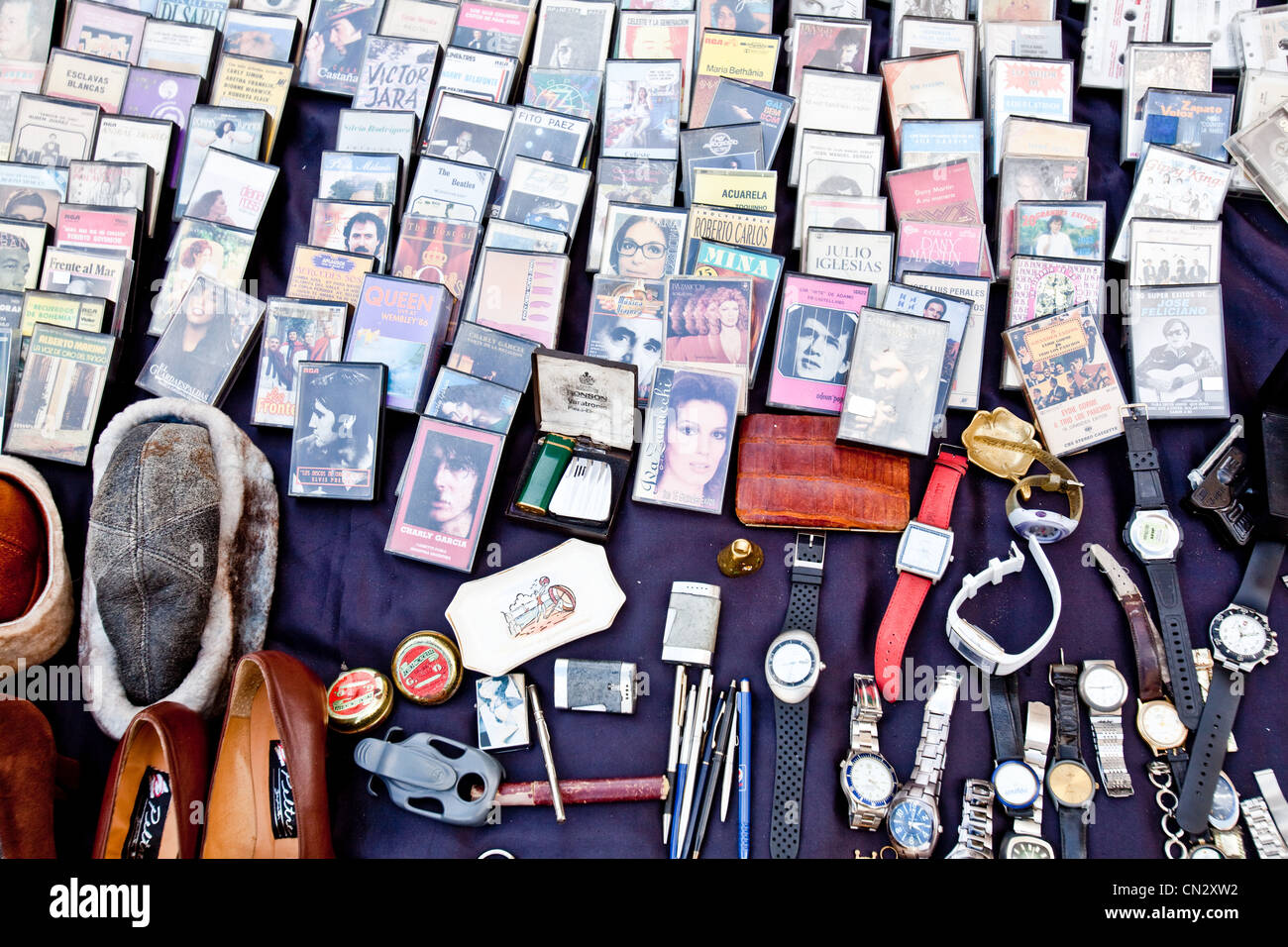 Items for sale - Stock Image