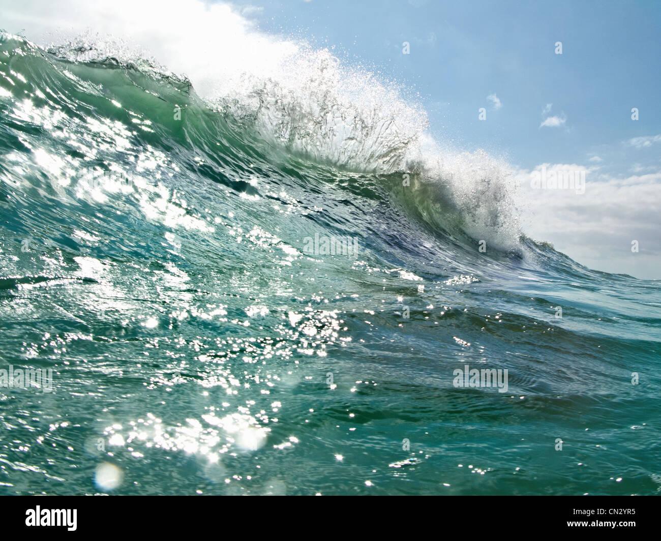 Ocean wave - Stock Image