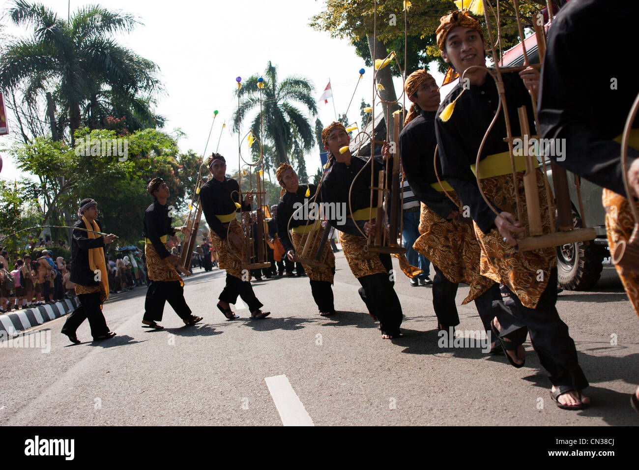 31th March 2012 West Java Cultural Arts Carnival 2012 in Sukabumi Stock Photo: 47400994
