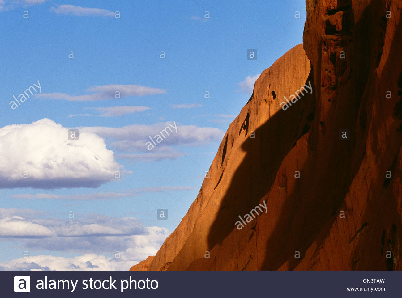Ayers Rock, Uluru-Kata Tjuta National Park, Australia - Stock Image