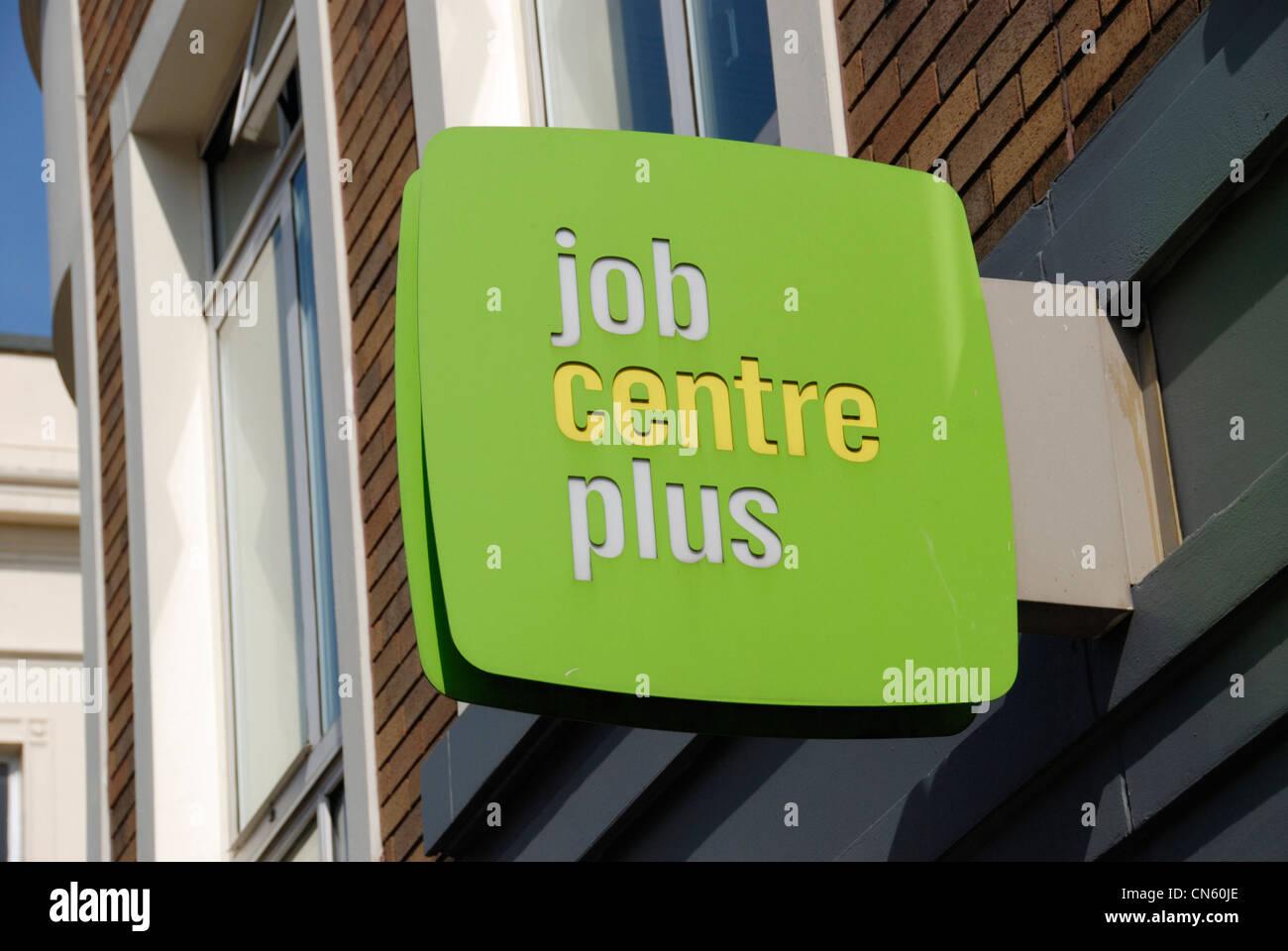 Jobcentre plus sign logoStock Photo