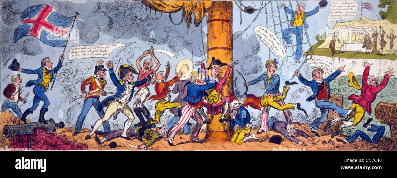 War of 1812 - Stock Image
