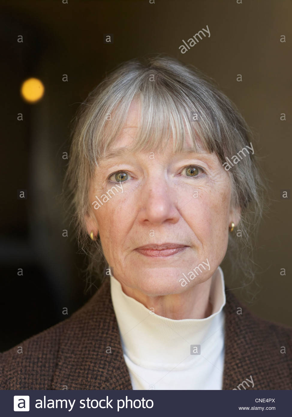 Anne Tyler Pulitzer Prize winning author and writer at The Oxford Literary Festival at Christchurch College Oxford Stock Photo