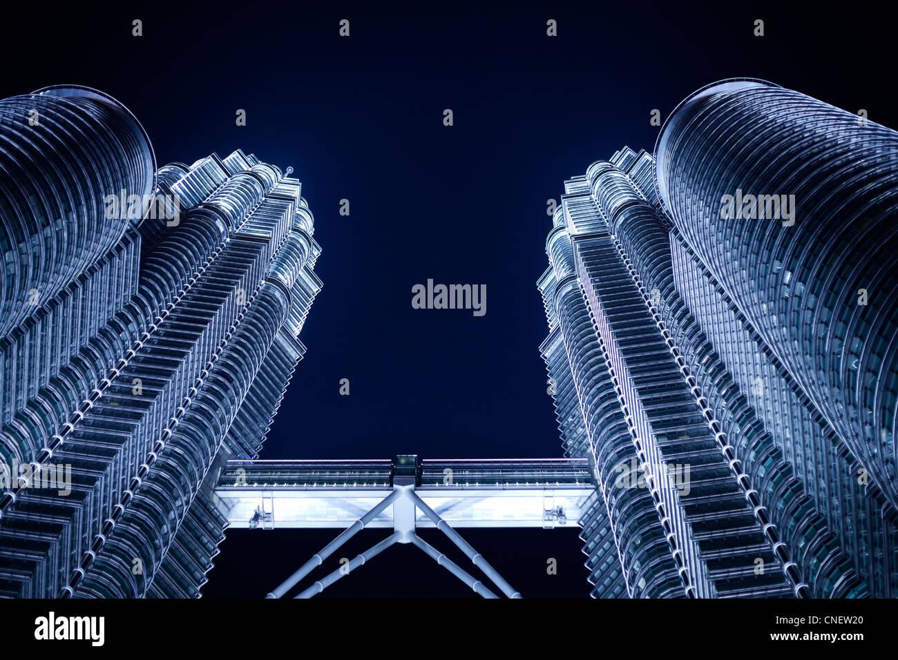 Petronas towers Kuala Lumpur - Stock Image