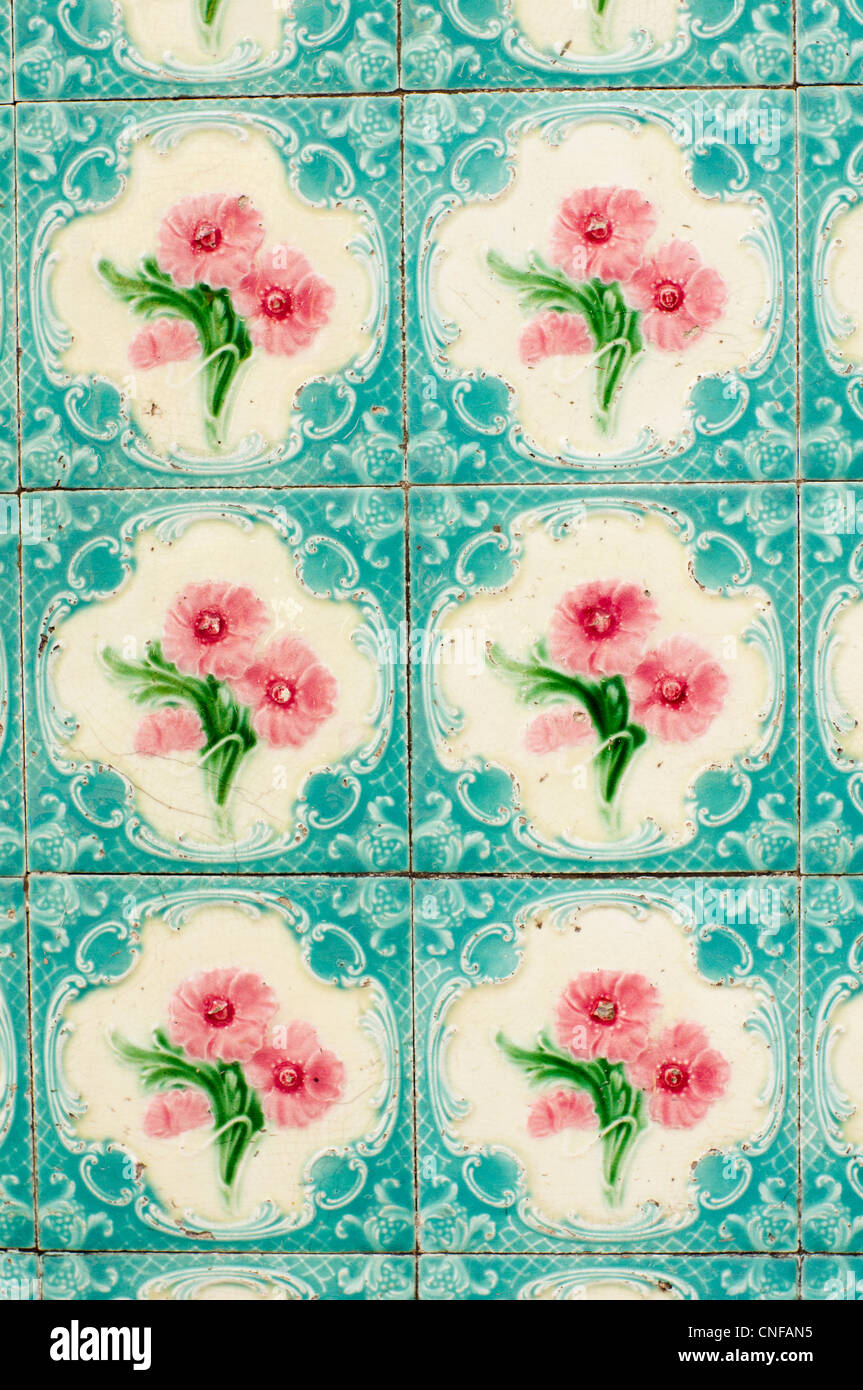 A variety of oriental tiles design is found in Penang, malaysia ...