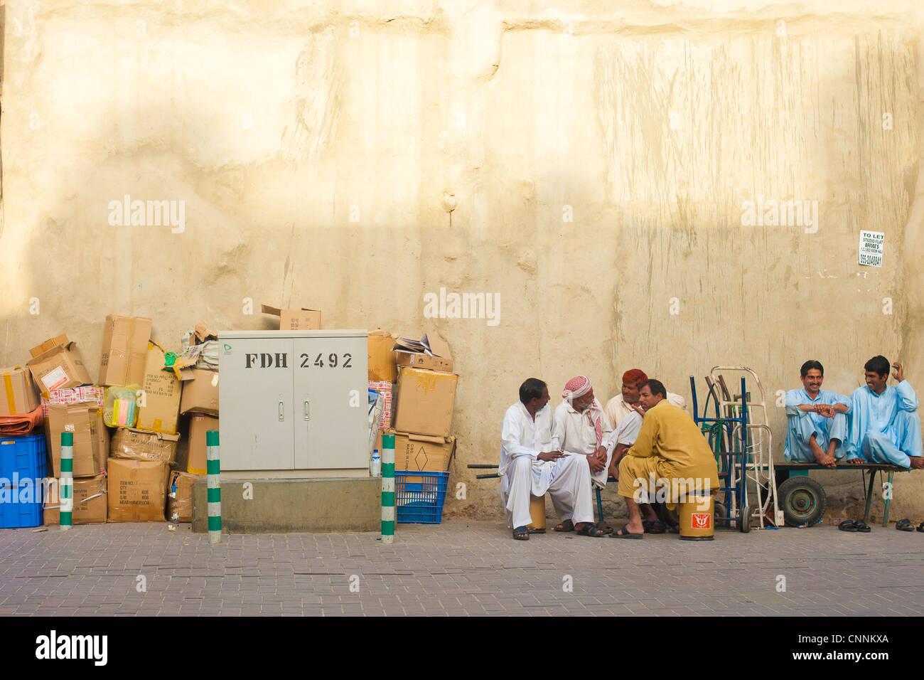 dubai spice souk, deira - Stock Image
