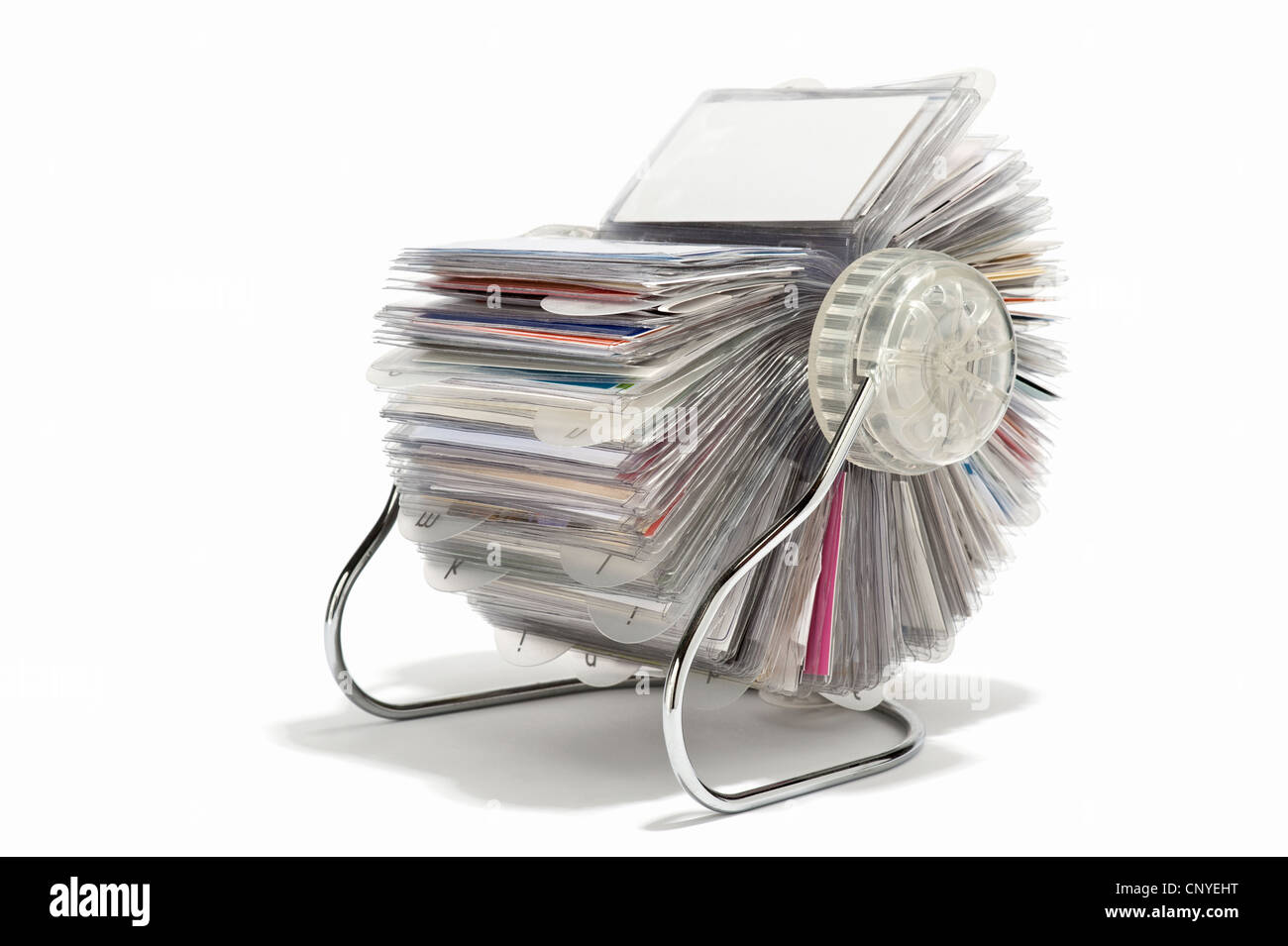 A rotary business card holder stock photo 47932692 alamy a rotary business card holder reheart Choice Image
