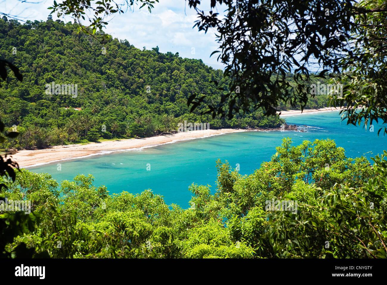 Mission Beach near Innisfail, Australia, Queensland Stock Photo