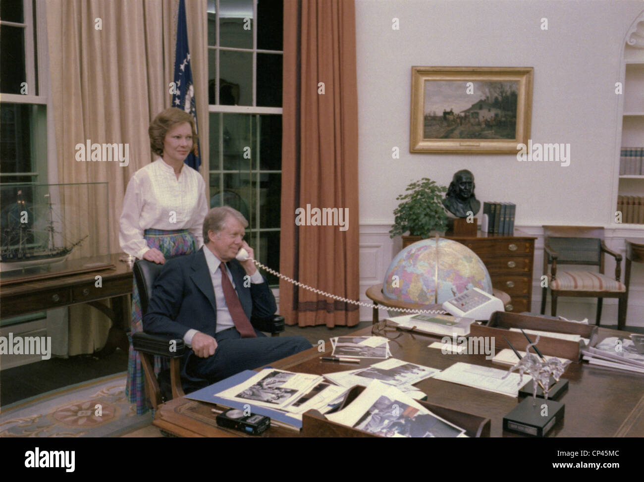 jimmy carter oval office. jimmy carter and rosalynn in the oval office when panama canal treaty was ratified o