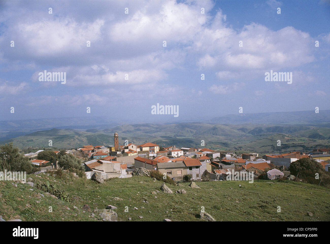 Sardinia - Morgantown (Or). Stock Photo