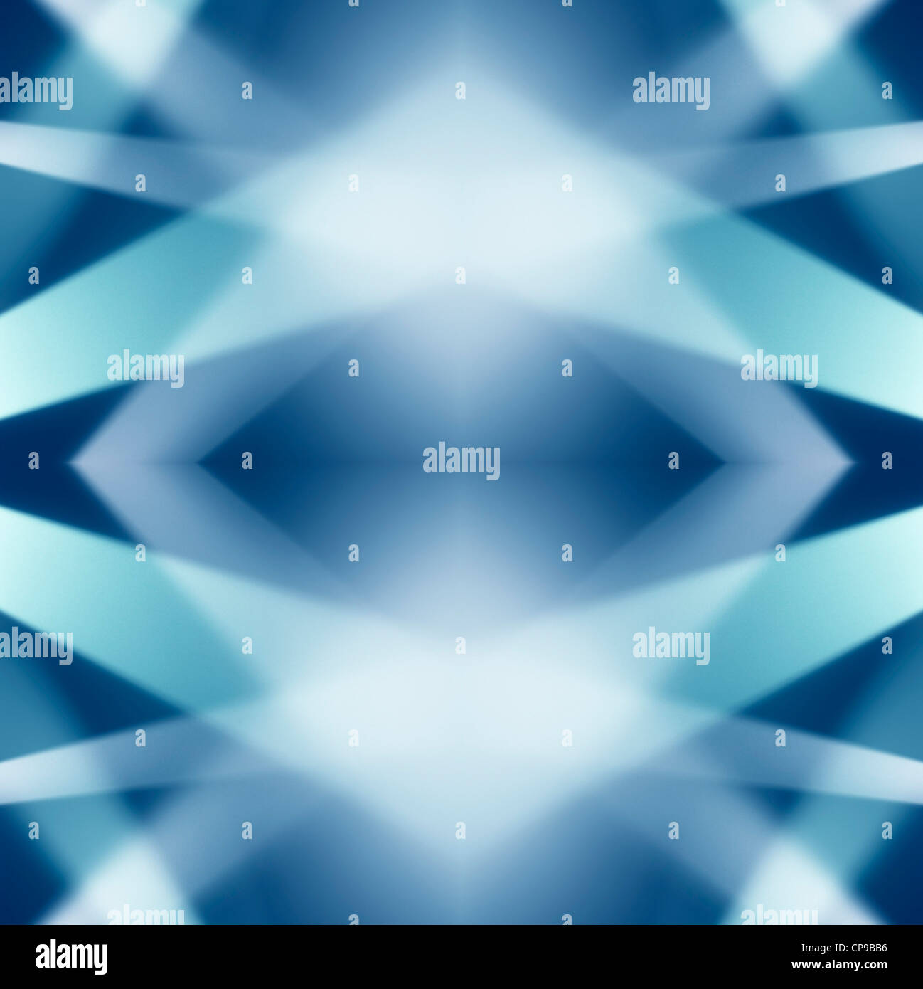 Abstract Reflected Light Ray Background - Stock Image