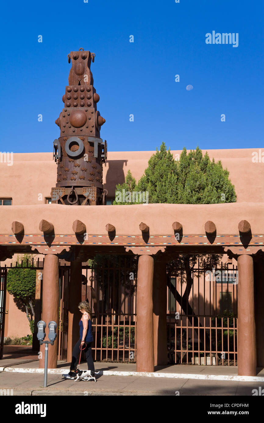 Museum of Contemporary Native Arts, Santa Fe, New Mexico, United States of America, North America - Stock Image