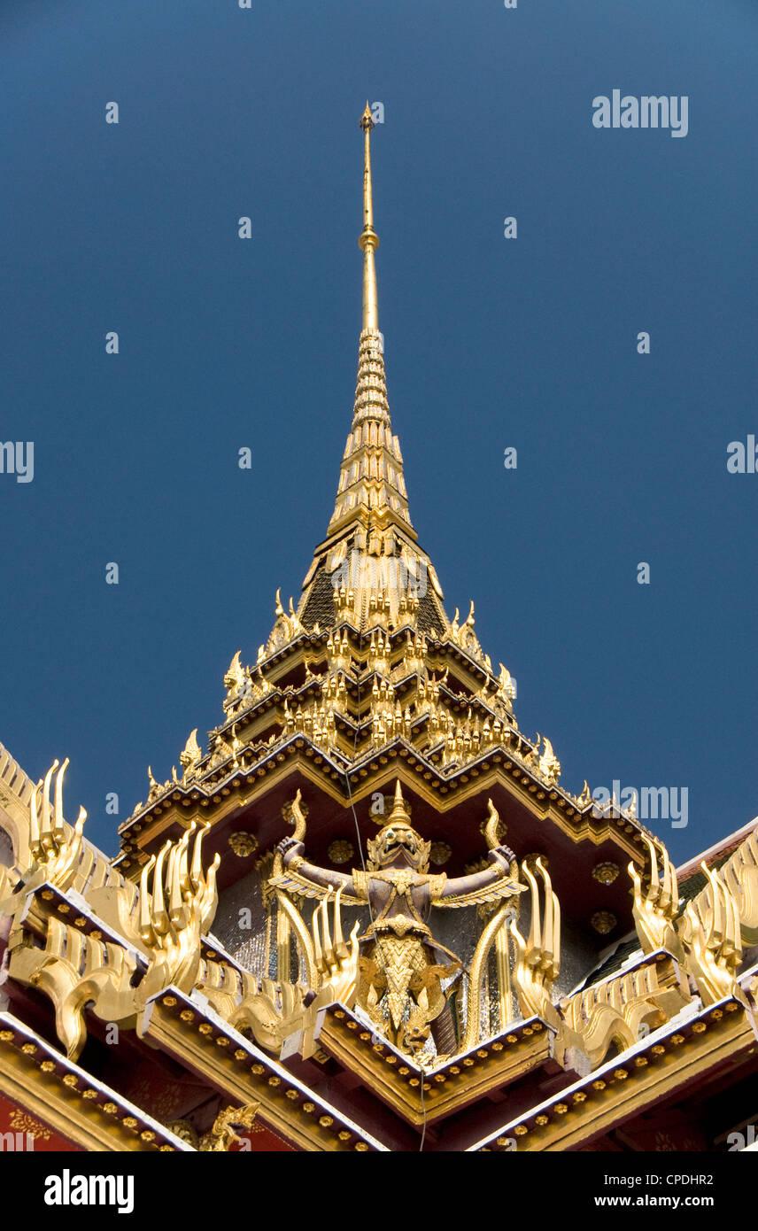 Wat Phra Kaeo Complex (Grand Palace Complex), Bangkok, Thailand, Southeast Asia, Asia - Stock Image
