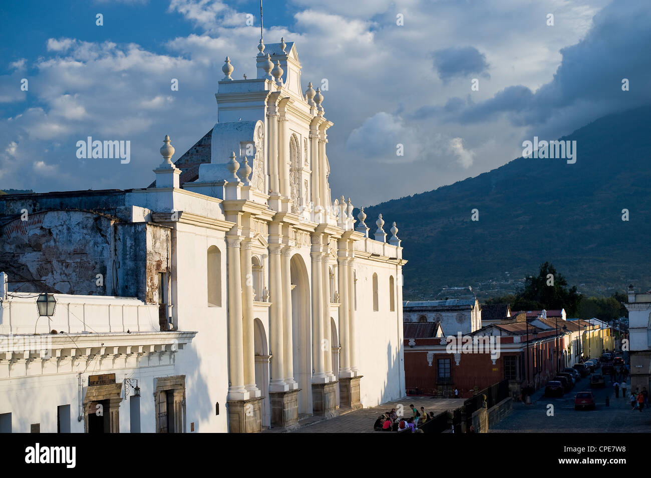 Cathedral of San Jose, UNESCO World Heritage Site, Antigua, Guatemala, Central America - Stock Image
