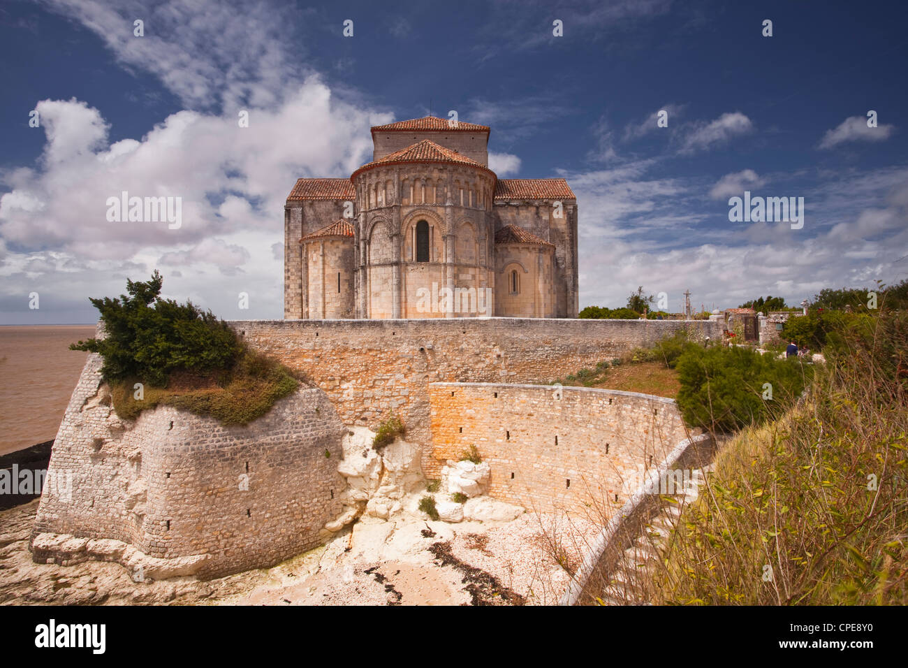 Saint Redegonde church, Talmont, Charente-Maritime, France, Europe - Stock Image
