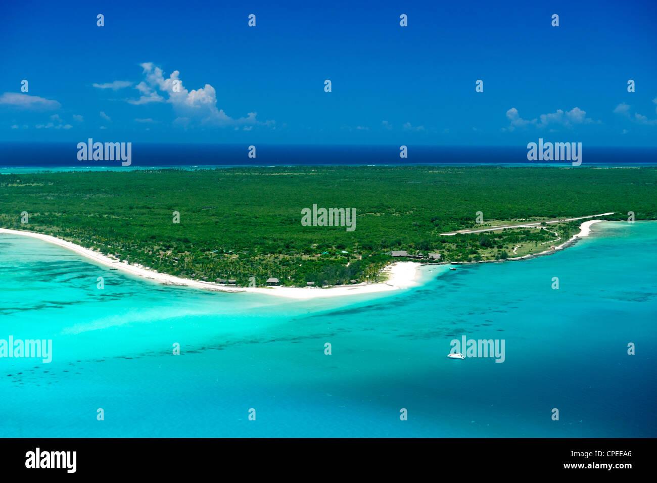 Matemo island in the Quirimbas archipelago off the coast of Mozambique. - Stock Image