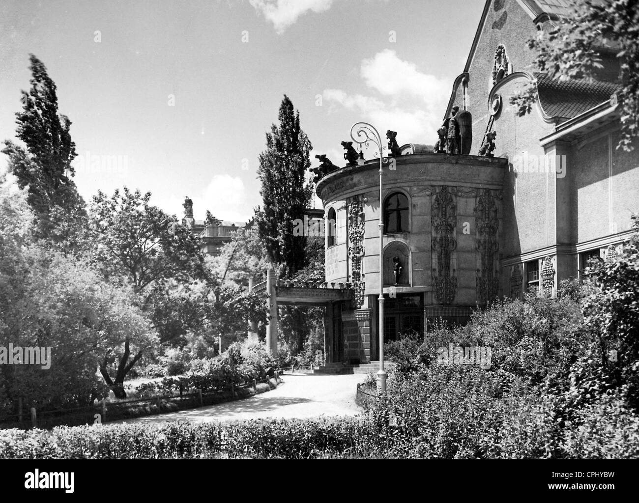 The House of Arts in Brno, 1940 - Stock Image