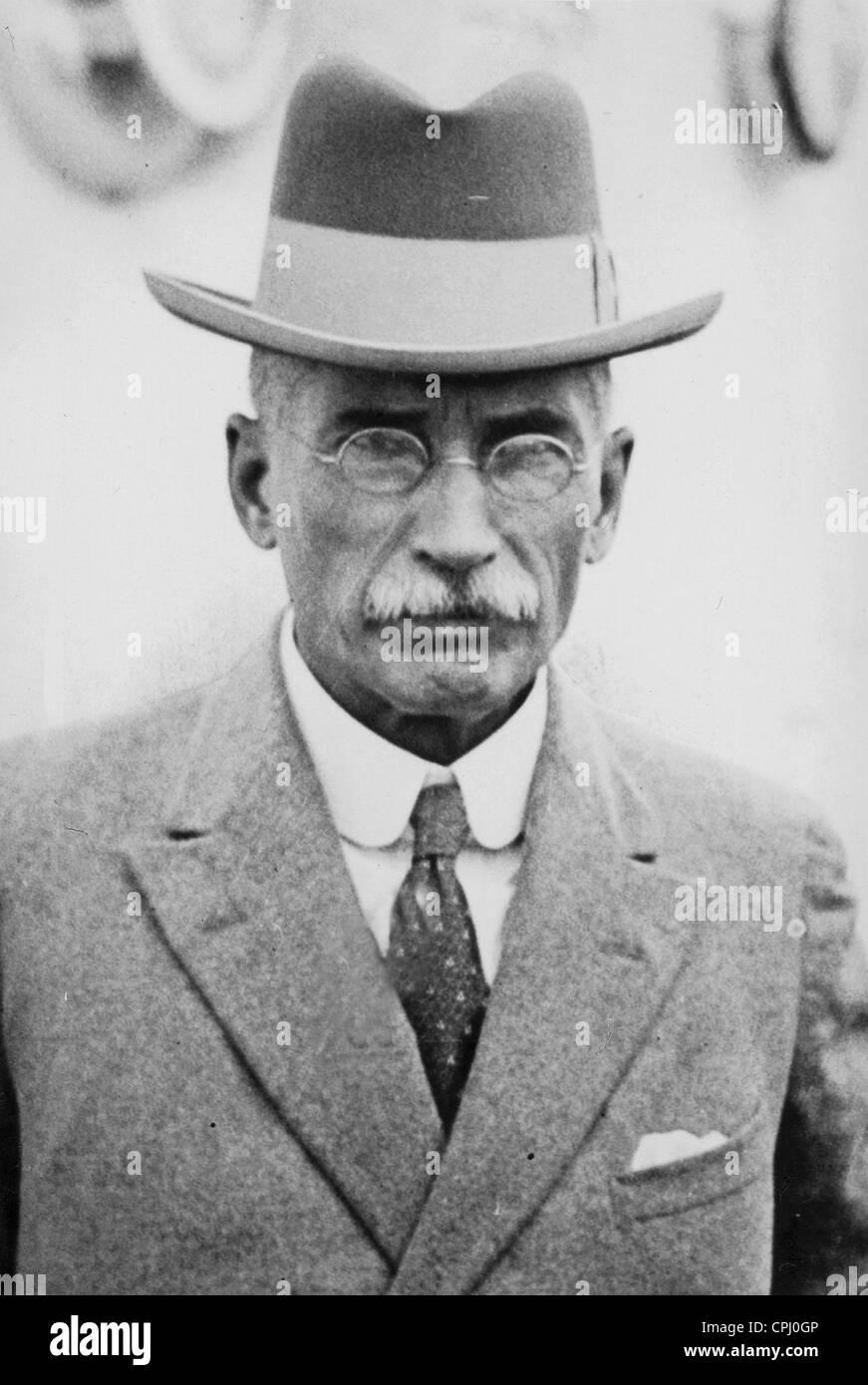 James Barry Munnik Hertzog, 1933 - Stock Image