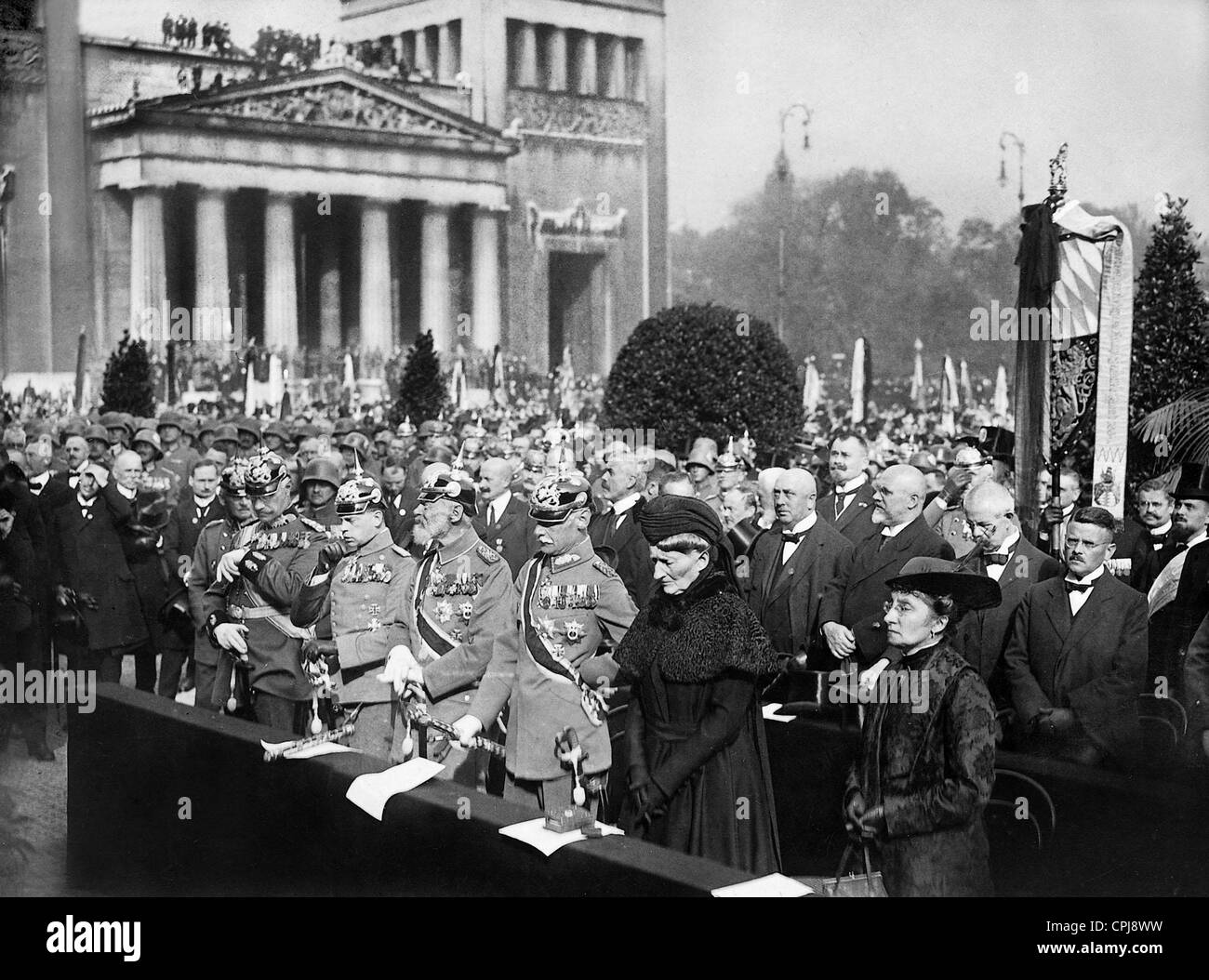 Memorial Day on 9 October in Munich, 1921